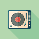 instrument, music, player, video icon