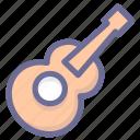 guitar, media, multimedia, musical instrument icon