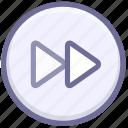 media, multimedia, speed, speed up icon