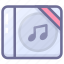 disc, media, multimedia, music, musical instrument icon