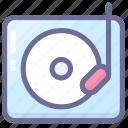 media, multimedia, music, phonogram icon