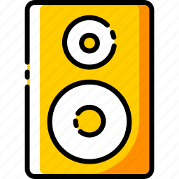device, dj, electronic, music, sound, speaker icon