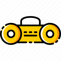 device, electronic, multimedia, music, recoder, taperecoder icon