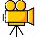 camcoder, camera, device, electronic, recoder, shooting, video icon