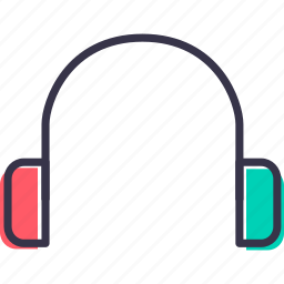 device, earphone, handsfree, headphone, multimedia icon
