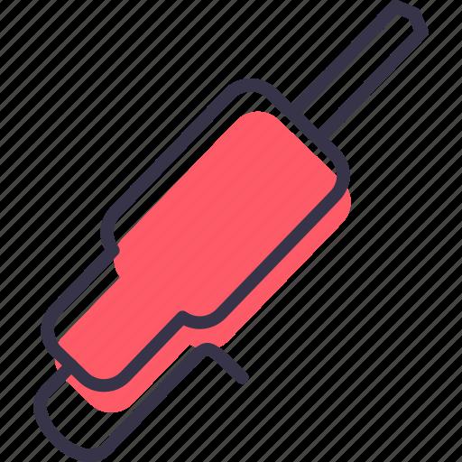device, electronic, jack, multimedia, pin, plug icon