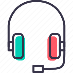 device, earphone, electronic, handsfree, headphone, music icon