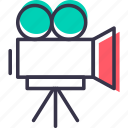 camcorder, device, multimedia, music, recoder, shooting, video icon