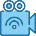 cam, camera, connect, digital, media, video, wifi icon