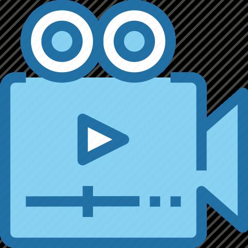 camera, digital, media, novie, play, video icon