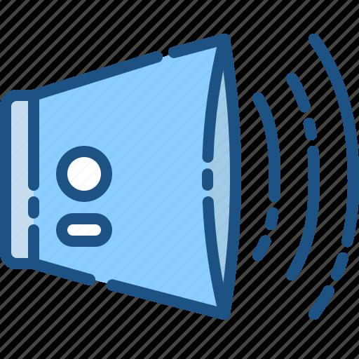 audio, instrument, music, song, sound, speaker, volume icon