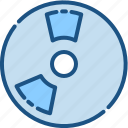 disc, disk, dvd, instrument, multimedia, music, player icon