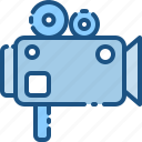 camera, cinema, film, movie, photo, play, video icon