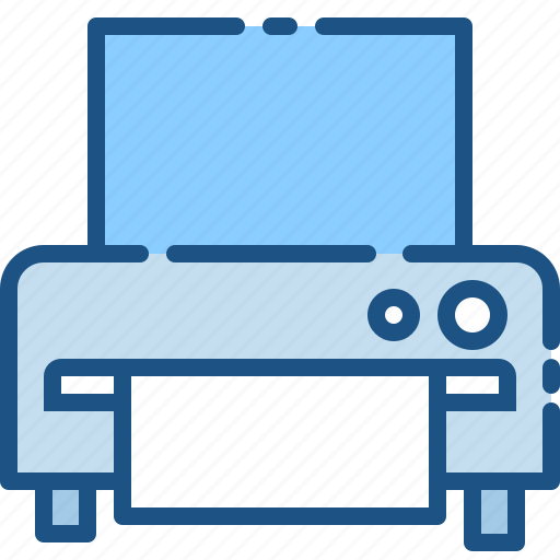business, device, document, marketing, media, office, printer icon