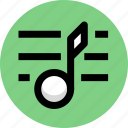 multimedia, music, music list icon