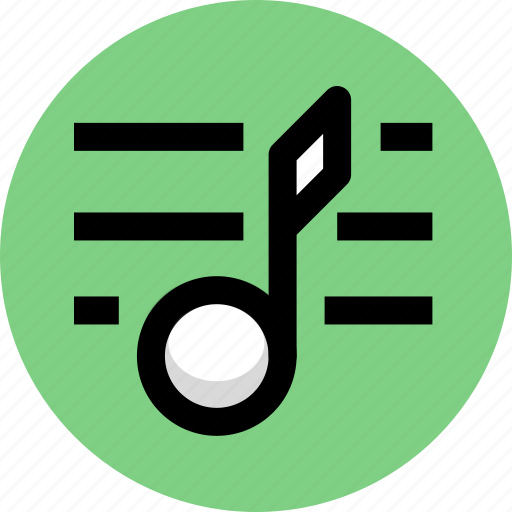 multimedia, music, music list icon