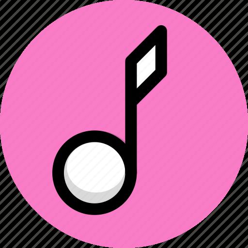 multimedia, music, note, sound icon