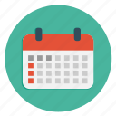 calender, date, multimedia, schedule icon