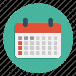 calender, date, multimedia, schedule icon