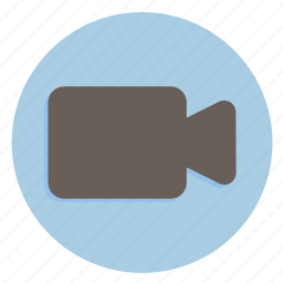 cam, multimedia, player, record, video icon