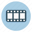 cinema, clip, film, frame, movie strip, multimedia, strip icon