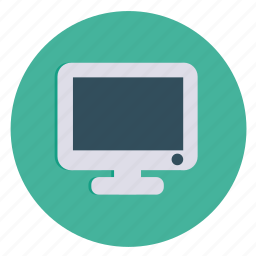 computer, desktop, lcd, monitor, multimedia, screen icon
