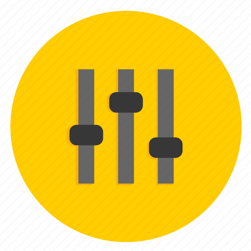 control, control panel, multimedia, panel, settings, volume icon