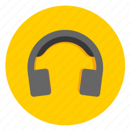 earphone, headphone, headset, media, multimedia, music icon