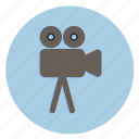 cam, camera, cinema, flm, multimedia, photography, roller icon
