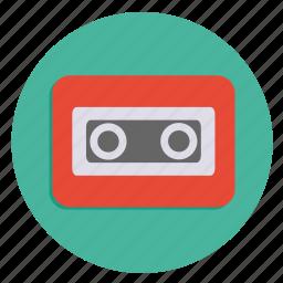 cassette, media, multimedia, storage, storage device icon