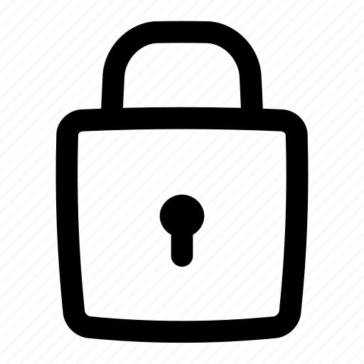 Lock, privacy, private, secure, security, ui, user interface icon - Download on Iconfinder