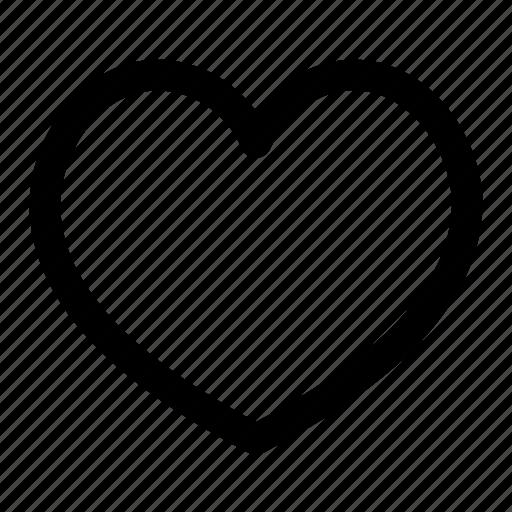 bookmark, favorite, heart, love, pin, ui, user interface icon