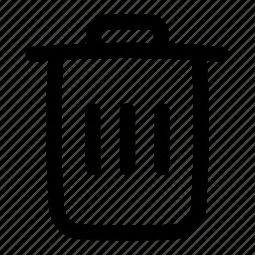 multimedia, recycle bin, remove, trash, ui, user interface icon