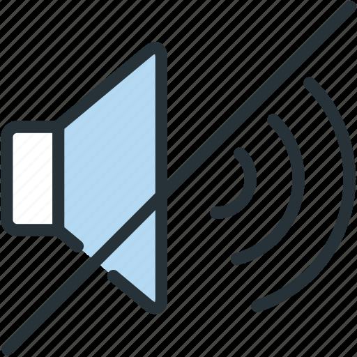 multimeda, no, sound icon