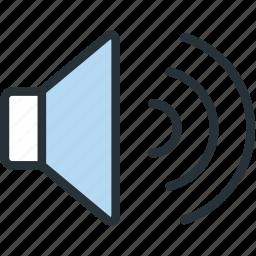 loud, multimeda, sound icon