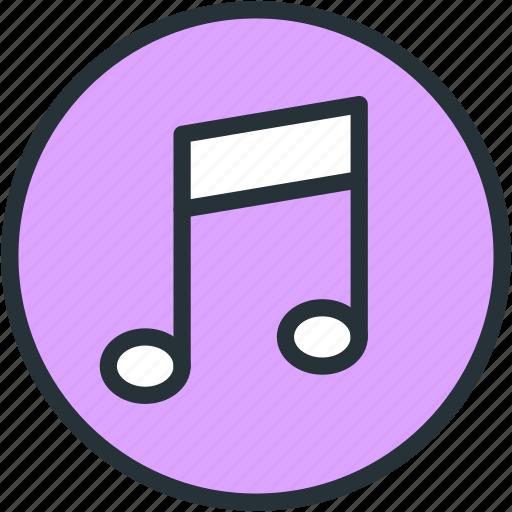 itunes, multimeda, music icon
