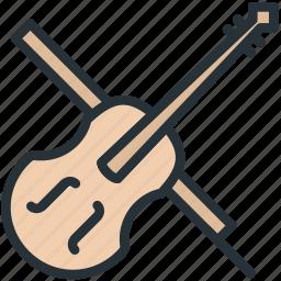 multimeda, violin icon