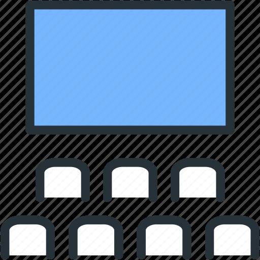 cinema, movie, multimeda, video icon