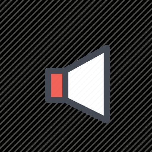 device, multimedia, music, sound, speaker icon