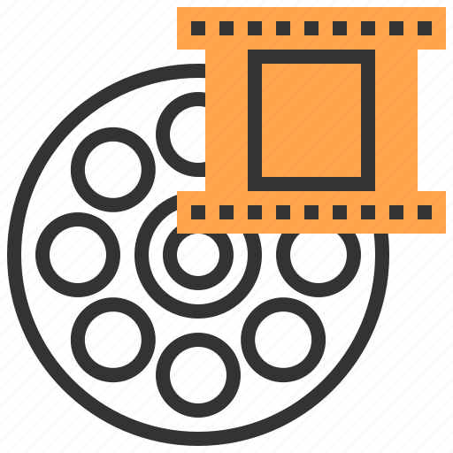 communication, interface, movie, multimedia, network, technology, video icon