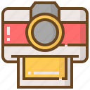 camera, communication, media, multimedia, social, technology icon