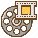 communication, media, movie, multimedia, music, technology, video icon