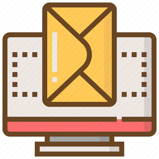 communication, computer, email, media, message, multimedia, technology icon