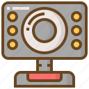 camera, communication, media, multimedia, technology, video, webcam icon