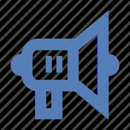 bullhorn, megaphone, news, viral marketing icon