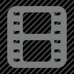 film, multimedia, roll, strip icon