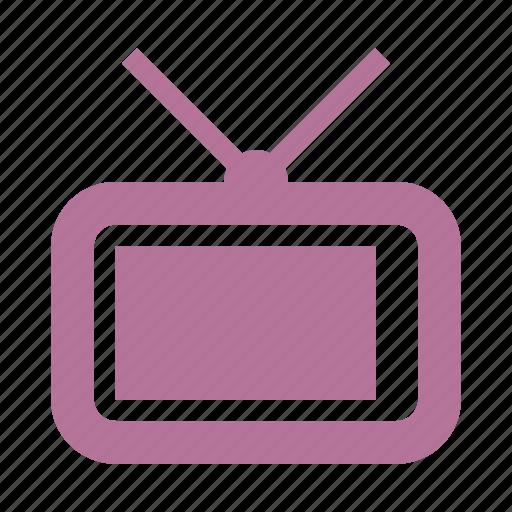 multimedia, television, tv icon