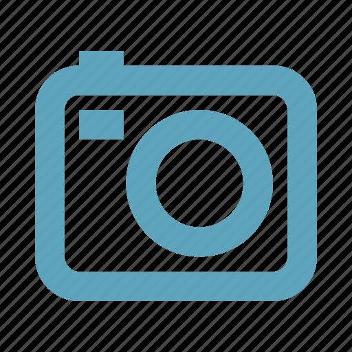 camera, digital camera, multimedia icon