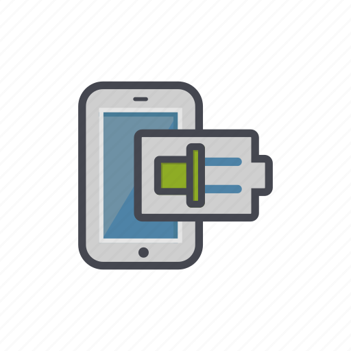 battery, charging, device, phone, smartphone icon