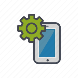 device, options, phone, setting, smartphone icon
